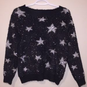 Dreamers Textured Star Sweater